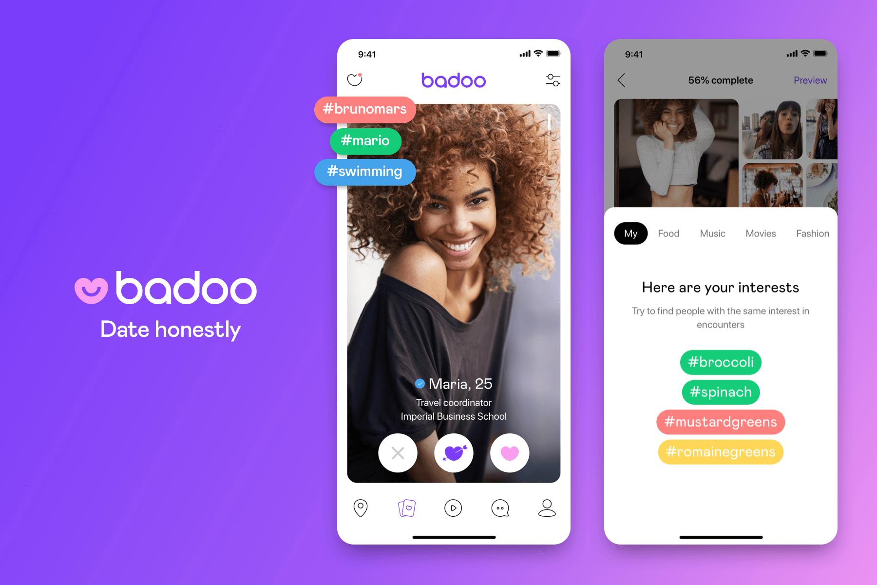 Badoo Profil Interesse