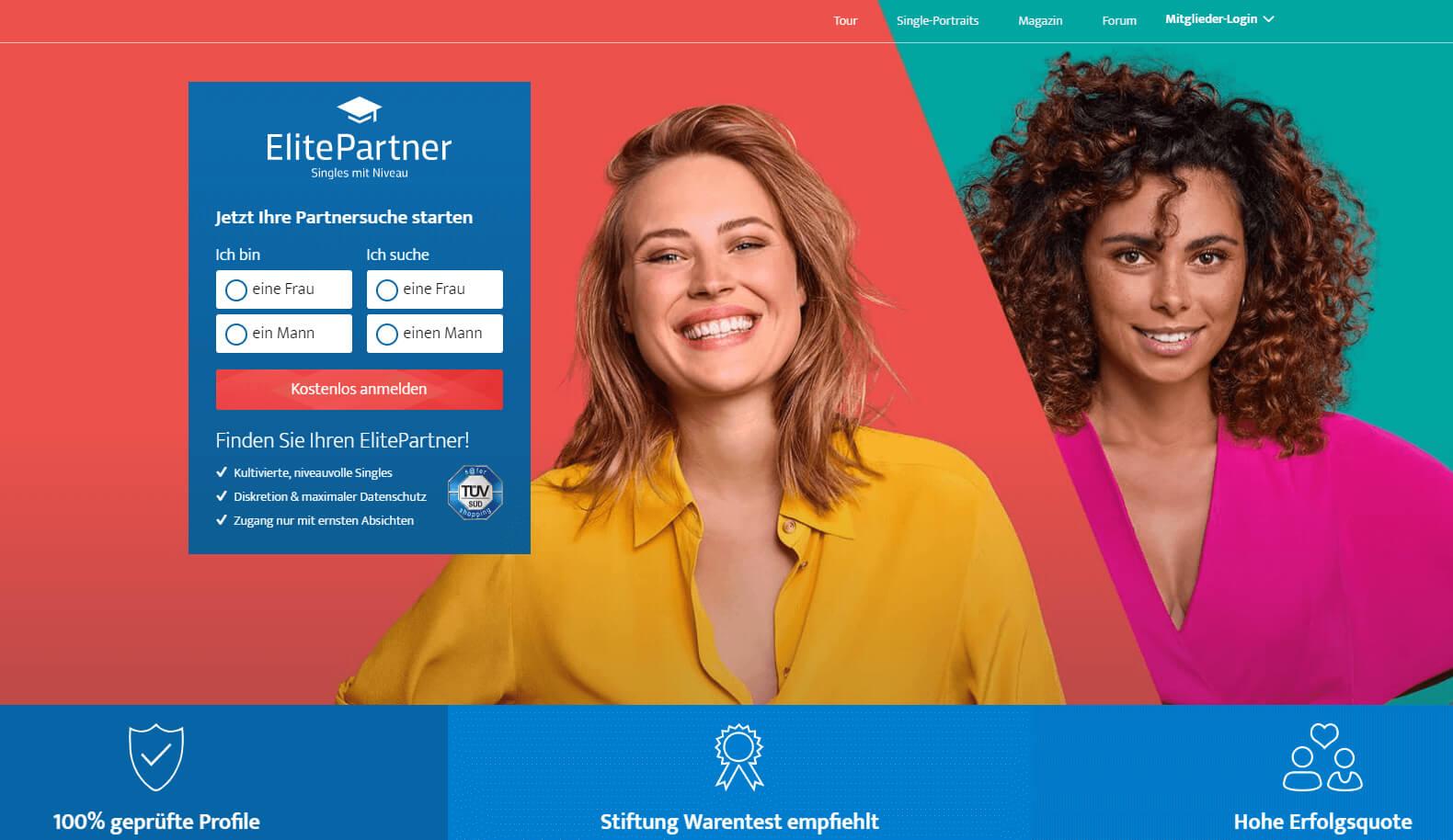 ElitePartner Startseite